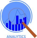 Διάνυσμα - analytics Στοκ φωτογραφία με δικαίωμα ελεύθερης χρήσης