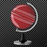 Διάνυσμα criket Σφαίρα Criket που απομονώνεται πέρα από το διαφανές υπόβαθρο επίσης corel σύρετε το διάνυσμα απεικόνισης Στοκ εικόνα με δικαίωμα ελεύθερης χρήσης