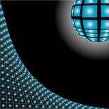 διάνυσμα disco ανασκόπησης Στοκ Εικόνες