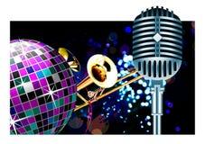 διάνυσμα disco σφαιρών Στοκ εικόνα με δικαίωμα ελεύθερης χρήσης
