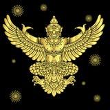 Διάνυσμα Garuda Στοκ Εικόνες