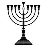 Διάνυσμα Hanukkah menorah