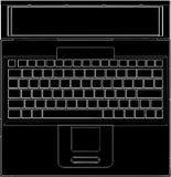 διάνυσμα lap-top 04 υπολογιστών Στοκ φωτογραφίες με δικαίωμα ελεύθερης χρήσης