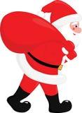 διάνυσμα santa Claus Στοκ εικόνα με δικαίωμα ελεύθερης χρήσης