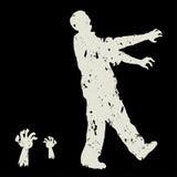 Διάνυσμα Zombie ελεύθερη απεικόνιση δικαιώματος