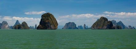 διάσημα νησιά Ταϊλάνδη Στοκ Φωτογραφία