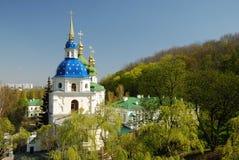 Διάσημες εκκλησίες του Κίεβου Στοκ φωτογραφίες με δικαίωμα ελεύθερης χρήσης