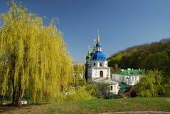 Διάσημες εκκλησίες του Κίεβου Στοκ Εικόνες