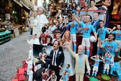 Διάσημες μαριονέτες από τη Νάπολη Στοκ εικόνα με δικαίωμα ελεύθερης χρήσης