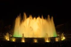 Διάσημες πηγές στο Plaza της Ισπανίας Βαρκελώνη Στοκ φωτογραφίες με δικαίωμα ελεύθερης χρήσης