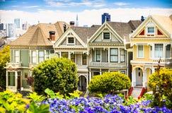 Διάσημη άποψη στο Σαν Φρανσίσκο Στοκ Εικόνα