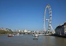 Διάσημη άσπρη ρόδα στο Λονδίνο λεπτομερώς στοκ φωτογραφία με δικαίωμα ελεύθερης χρήσης