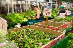 Διάσημη αγορά της αποκαλούμενης Chelsea πόλη αγοράς της Νέας Υόρκης Στοκ εικόνες με δικαίωμα ελεύθερης χρήσης