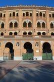 Διάσημη αρένα ταυρομαχίας Las Ventas Στοκ Εικόνες