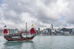 Διάσημη βάρκα Aqua Luna Στοκ Εικόνες