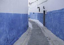 Διάσημη μαροκινή οδός Στοκ φωτογραφίες με δικαίωμα ελεύθερης χρήσης