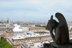 διάσημη παράβλεψη Παρίσι χι& Στοκ Εικόνες