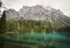 Διάσημη πράσινη λίμνη - Gruener δείτε - στην Αυστρία στοκ φωτογραφίες