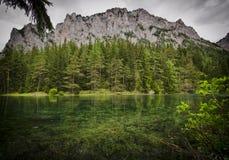 Διάσημη πράσινη λίμνη - Gruener δείτε - στην Αυστρία στοκ φωτογραφία με δικαίωμα ελεύθερης χρήσης