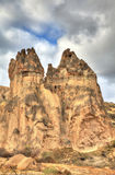 Διάσημη πόλη Cappadocia στην Τουρκία Στοκ Εικόνες