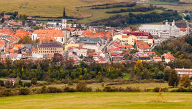 Διάσημη πόλη Levoca, Σλοβακία. Περιοχή παγκόσμιων κληρονομιών της ΟΥΝΕΣΚΟ Στοκ Εικόνες