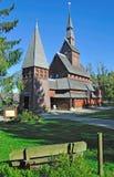 διάσημη σανίδα hahnenklee εκκλησι Στοκ φωτογραφίες με δικαίωμα ελεύθερης χρήσης