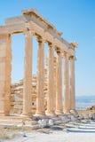 Διάσημοι ελληνικοί στυλοβάτες ναών στην Ελλάδα Στοκ Εικόνα