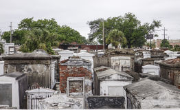 Διάσημος αριθμός νεκροταφείων ένας στη Νέα Ορλεάνη - τη ΝΕΑ ΟΡΛΕΆΝΗ, ΛΟΥΙΖΙΑΝΑ - 18 Απριλίου 2016 Στοκ φωτογραφία με δικαίωμα ελεύθερης χρήσης