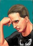 Διάσημος δράστης Tom σκληραγωγημένος απεικόνιση αποθεμάτων
