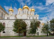 Διάσημος ναός στη Μόσχα Κρεμλίνο Στοκ Εικόνες