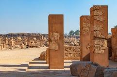 Διάσημος ναός Karnak σύνθετος του RA Amon σε Luxor στοκ φωτογραφίες με δικαίωμα ελεύθερης χρήσης