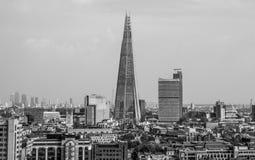 Διάσημος πύργος Shard στο Λονδίνο Southwark - το ΛΟΝΔΙΝΟ - τη ΜΕΓΑΛΗ ΒΡΕΤΑΝΊΑ - 19 Σεπτεμβρίου 2016 Στοκ Φωτογραφία