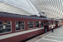 Διάσημος σταθμός τρένου Στοκ Εικόνα