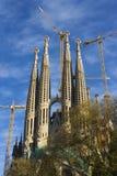 διάσημος sagrada familia κόσμος στοκ φωτογραφία με δικαίωμα ελεύθερης χρήσης