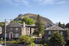 Διάσημο βουνό καθισμάτων Arthurs στη Σκωτία Στοκ Εικόνες