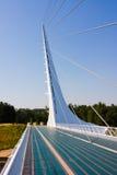 διάσημο ηλιακό ρολόι γεφυρών Στοκ Φωτογραφίες