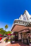 Διάσημο θέατρο του Art Deco αποικιών Στοκ Εικόνες