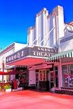 Διάσημο θέατρο του Art Deco αποικιών Στοκ εικόνα με δικαίωμα ελεύθερης χρήσης