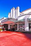 Διάσημο θέατρο im του Art Deco αποικιών Στοκ φωτογραφία με δικαίωμα ελεύθερης χρήσης