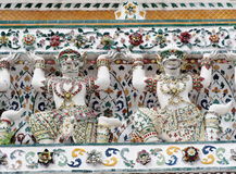 Διάσημο ιστορικό stupa βουδισμού στο ναό WAT ARUN, ΜΠΑΝΓΚΌΚ, ΤΑΪΛΆΝΔΗ Στοκ Φωτογραφίες