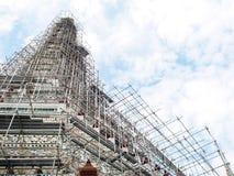 Διάσημο ιστορικό stupa βουδισμού στο ναό WAT ARUN, ΜΠΑΝΓΚΌΚ, ΤΑΪΛΆΝΔΗ Στοκ εικόνες με δικαίωμα ελεύθερης χρήσης