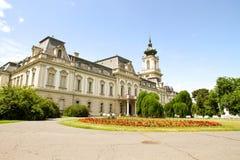 Διάσημο κάστρο σε Keszthely στοκ φωτογραφία με δικαίωμα ελεύθερης χρήσης