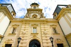 Διάσημο κάστρο σε Keszthely στοκ εικόνες με δικαίωμα ελεύθερης χρήσης