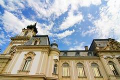 Διάσημο κάστρο σε Keszthely στοκ εικόνες