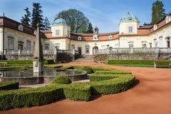 Διάσημο κάστρο Buchlovice Στοκ Φωτογραφίες