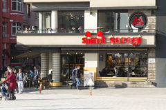 Διάσημο κατάστημα στην πλατεία Taksim, Ιστανμπούλ Στοκ Φωτογραφία