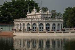 διάσημο μέρος στην Ταϊλάνδη ( Παλάτι Bangpain στοκ εικόνα με δικαίωμα ελεύθερης χρήσης