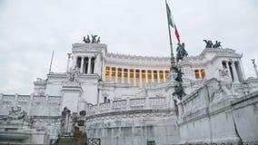 Διάσημο μνημείο αρχιτεκτονικής για να τιμήσει το βασιλιά της Ιταλίας, γύρος επίσκεψης στην Ιταλία φιλμ μικρού μήκους