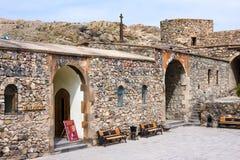 Διάσημο μοναστήρι Khor Virap στα σύνορα Αρμενία-Τουρκία κοντά στο βουνό Ararat, Αρμενία Στοκ Φωτογραφία