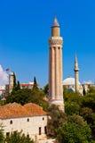 διάσημο μουσουλμανικό τέμενος Τουρκία antalya Στοκ Φωτογραφίες